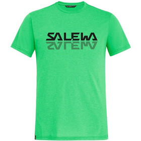 SALEWA Reflection Dri-Rel T-shirt Heren, summer green melange